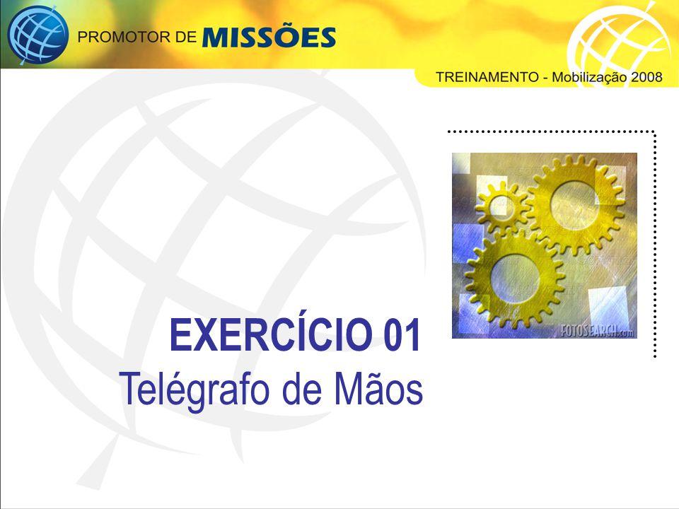 EXERCÍCIO 01 Telégrafo de Mãos