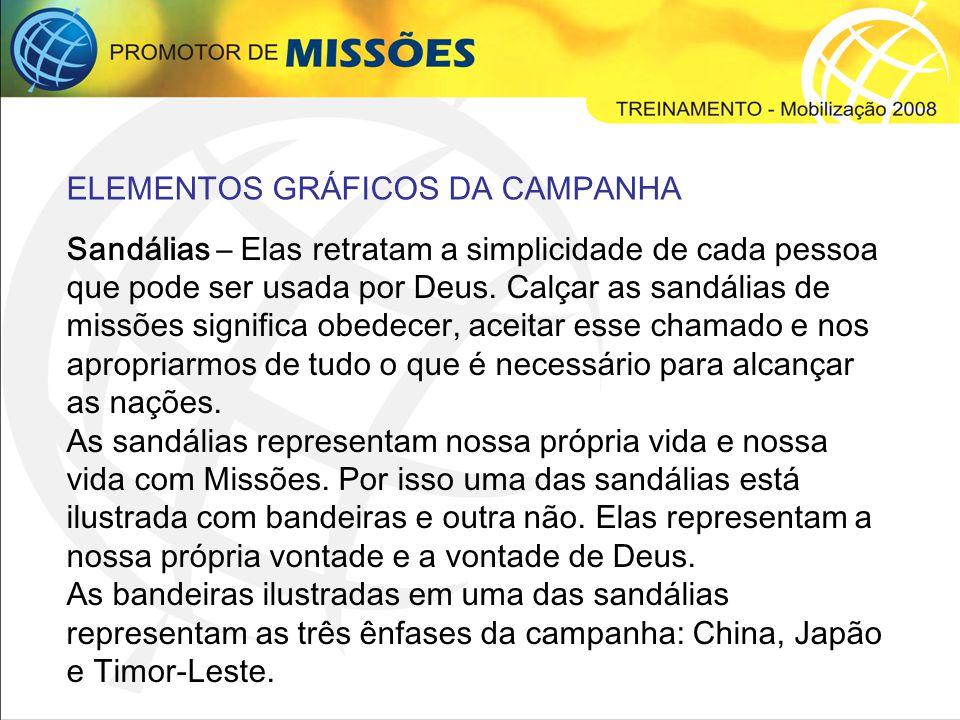 ELEMENTOS GRÁFICOS DA CAMPANHA