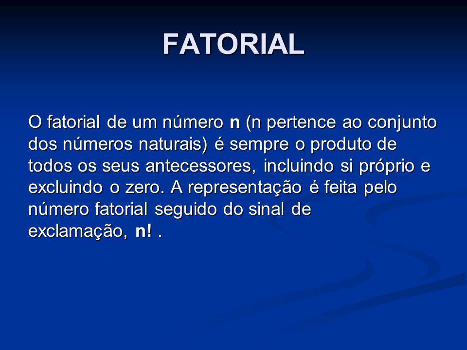 FATORIAL