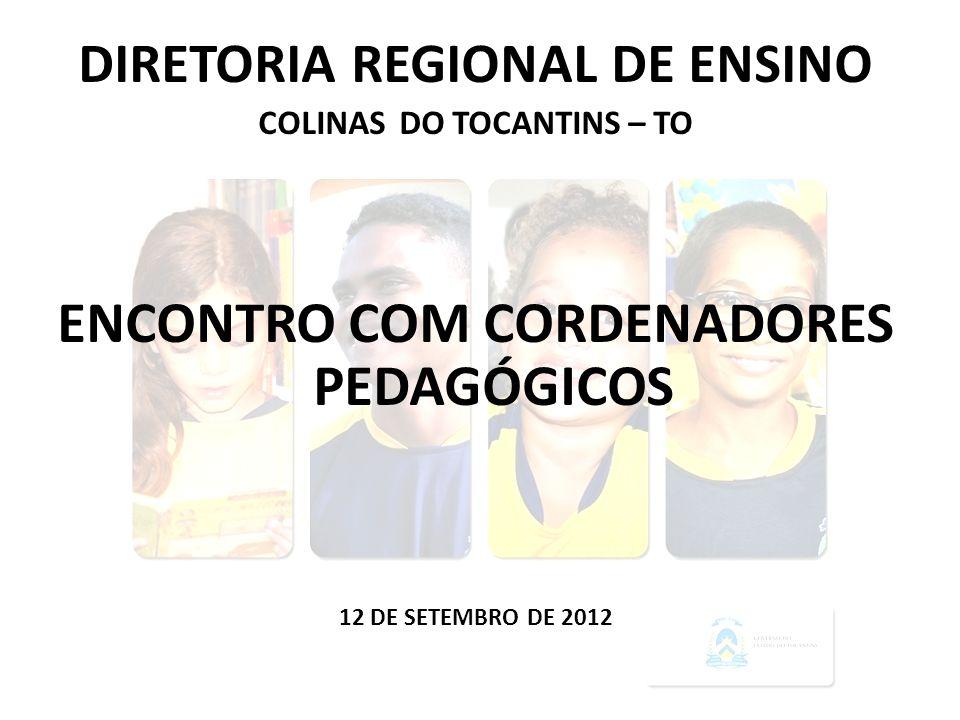 ENCONTRO COM CORDENADORES PEDAGÓGICOS
