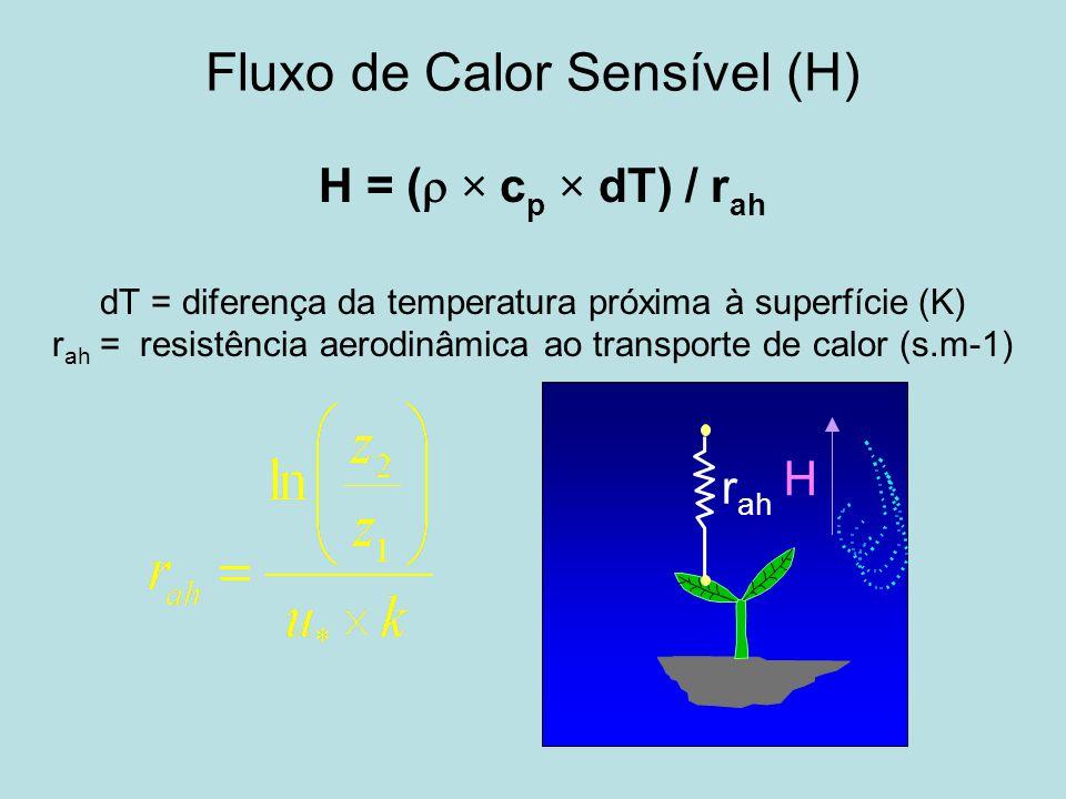 Fluxo de Calor Sensível (H)