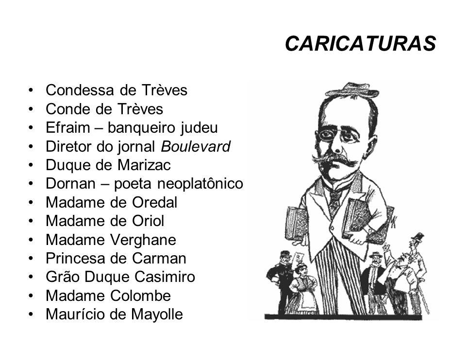 CARICATURAS Condessa de Trèves Conde de Trèves