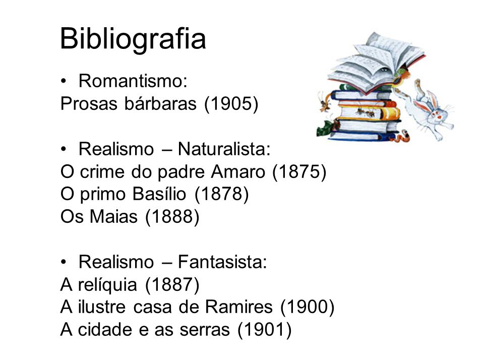 Bibliografia Romantismo: Prosas bárbaras (1905)