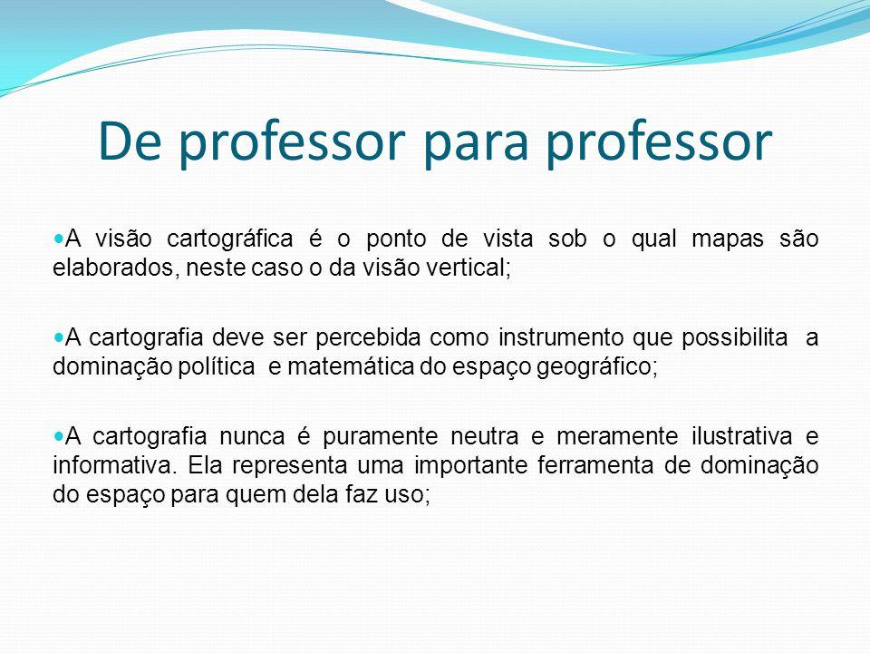 De professor para professor
