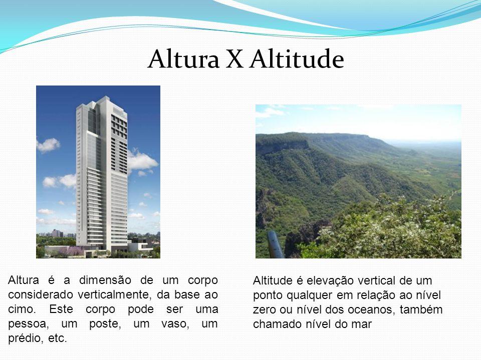 Altura X Altitude