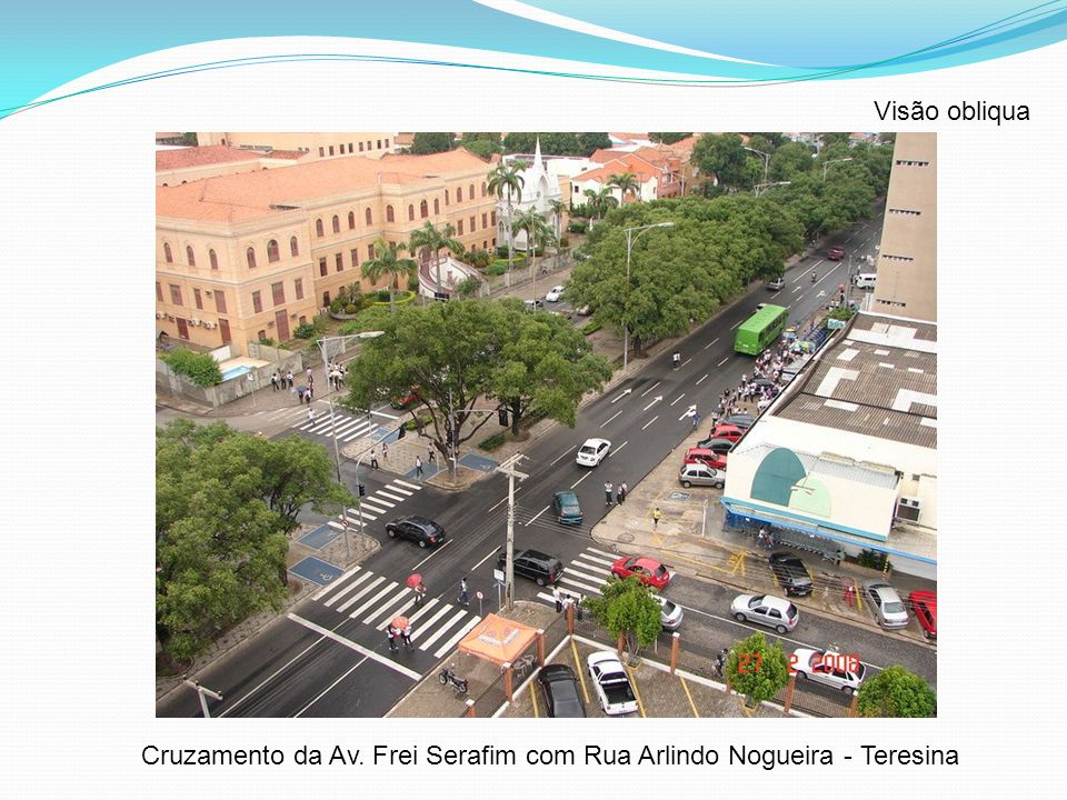 Cruzamento da Av. Frei Serafim com Rua Arlindo Nogueira - Teresina