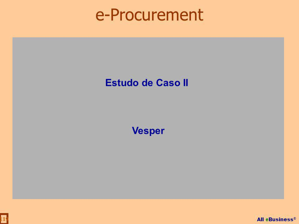 e-Procurement Estudo de Caso II Vesper
