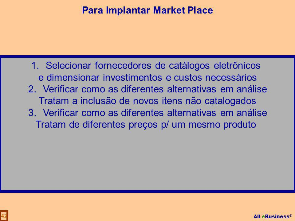 Para Implantar Market Place