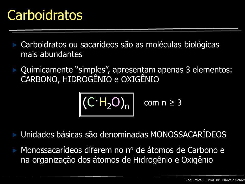 Carboidratos Carboidratos ou sacarídeos são as moléculas biológicas mais abundantes.