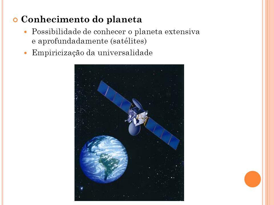 Conhecimento do planeta