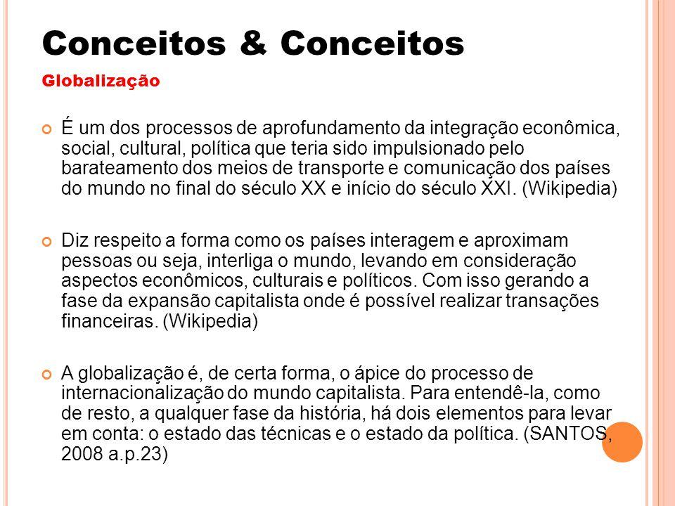Conceitos & Conceitos Globalização.