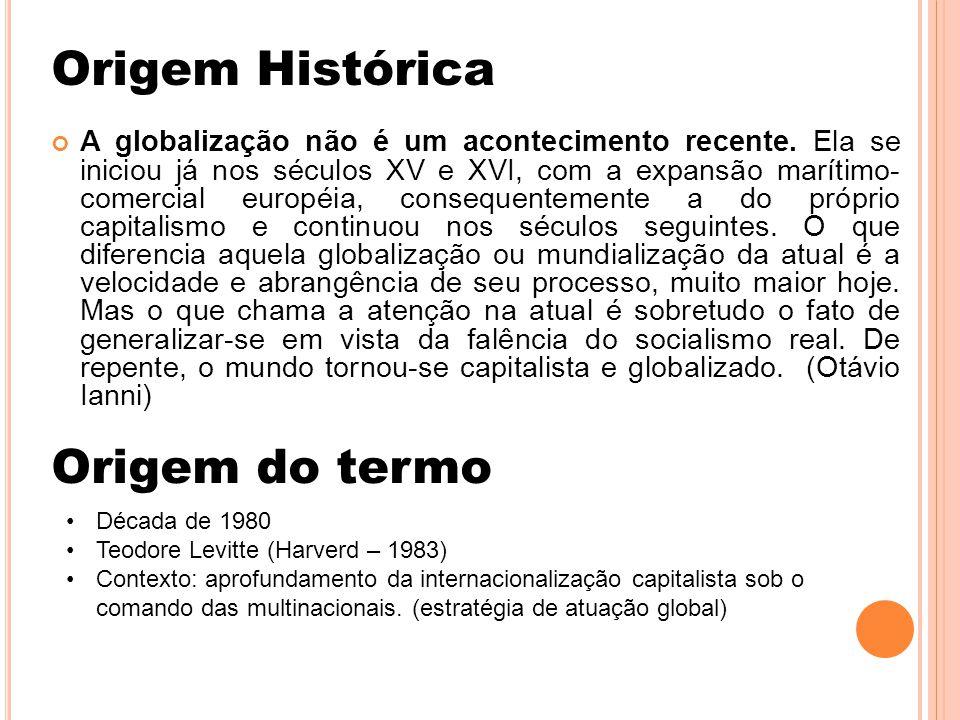 Origem Histórica Origem do termo