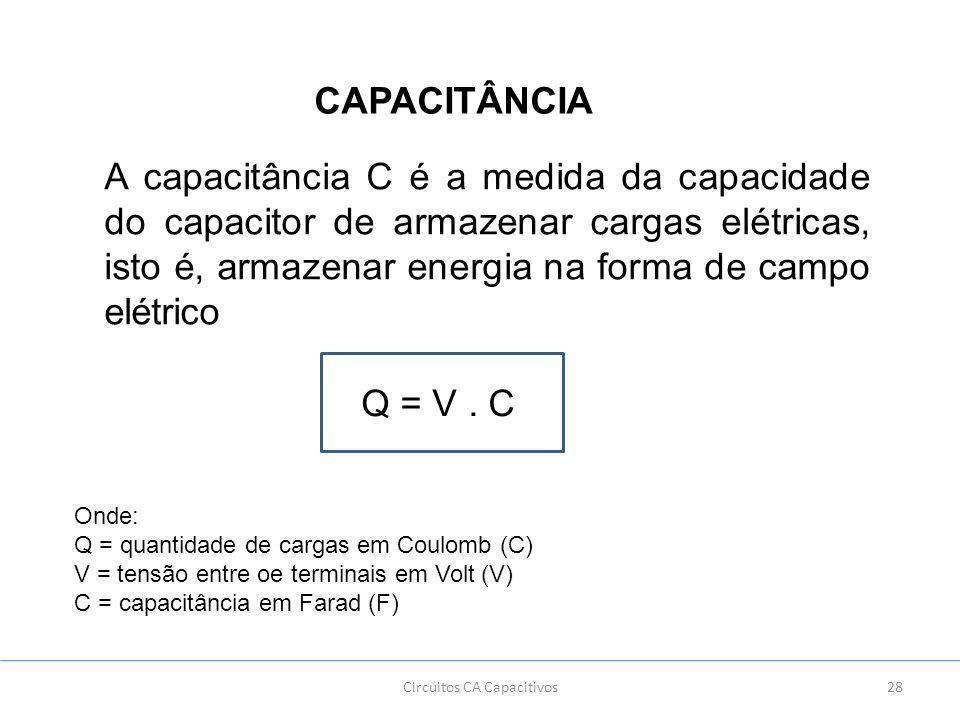 Circuitos CA Capacitivos