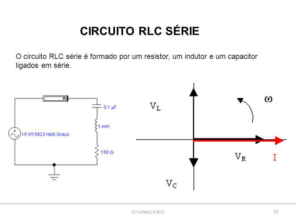 Circuito Rlc : Corrente e tensÃo alternada ppt carregar
