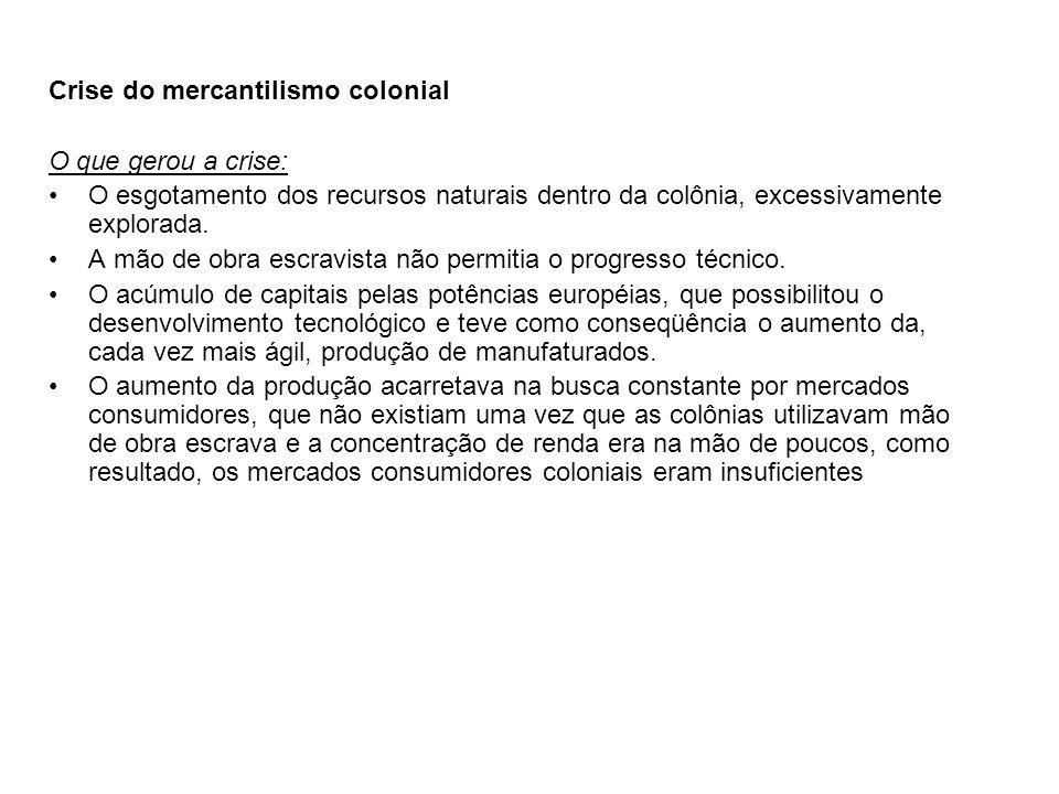 Crise do mercantilismo colonial