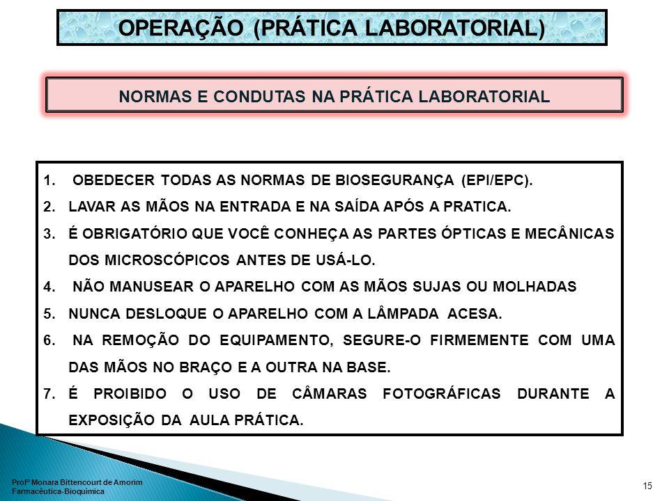 OPERAÇÃO (PRÁTICA LABORATORIAL)