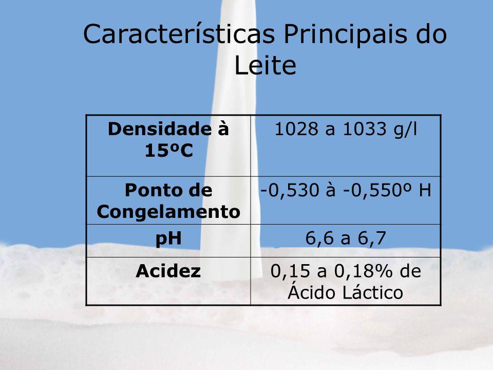 Características Principais do Leite