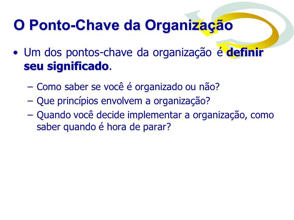 O Ponto-Chave da Organização