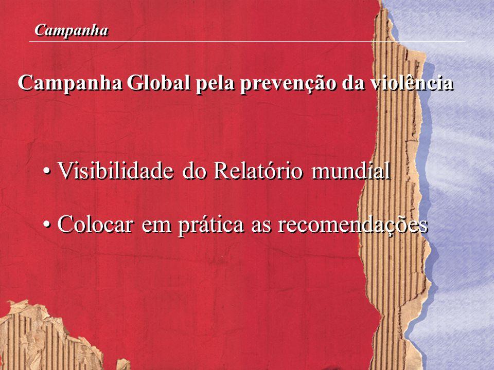 Visibilidade do Relatório mundial