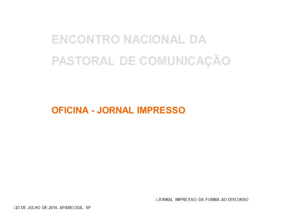 PASTORAL DE COMUNICAÇÃO