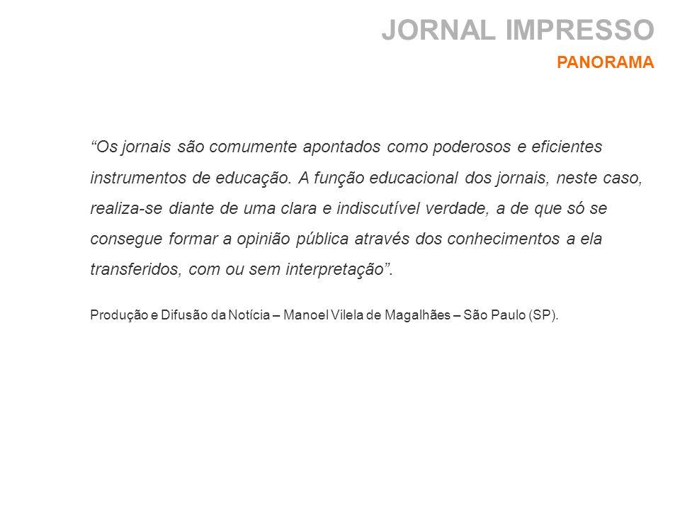 JORNAL IMPRESSO PANORAMA