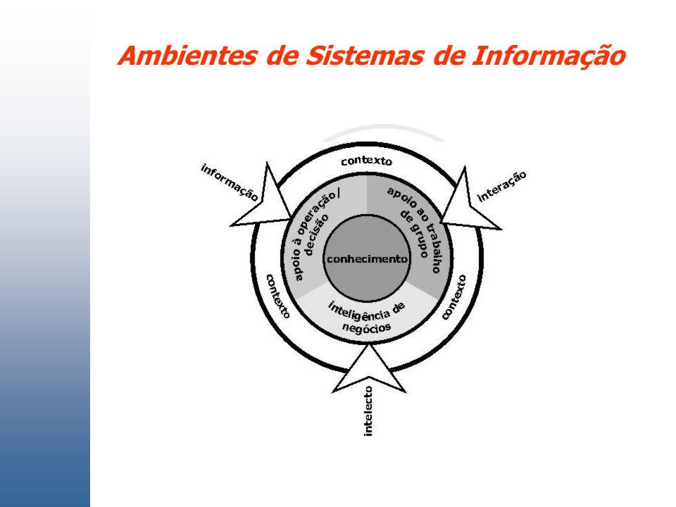 Ambientes de Sistemas de Informação