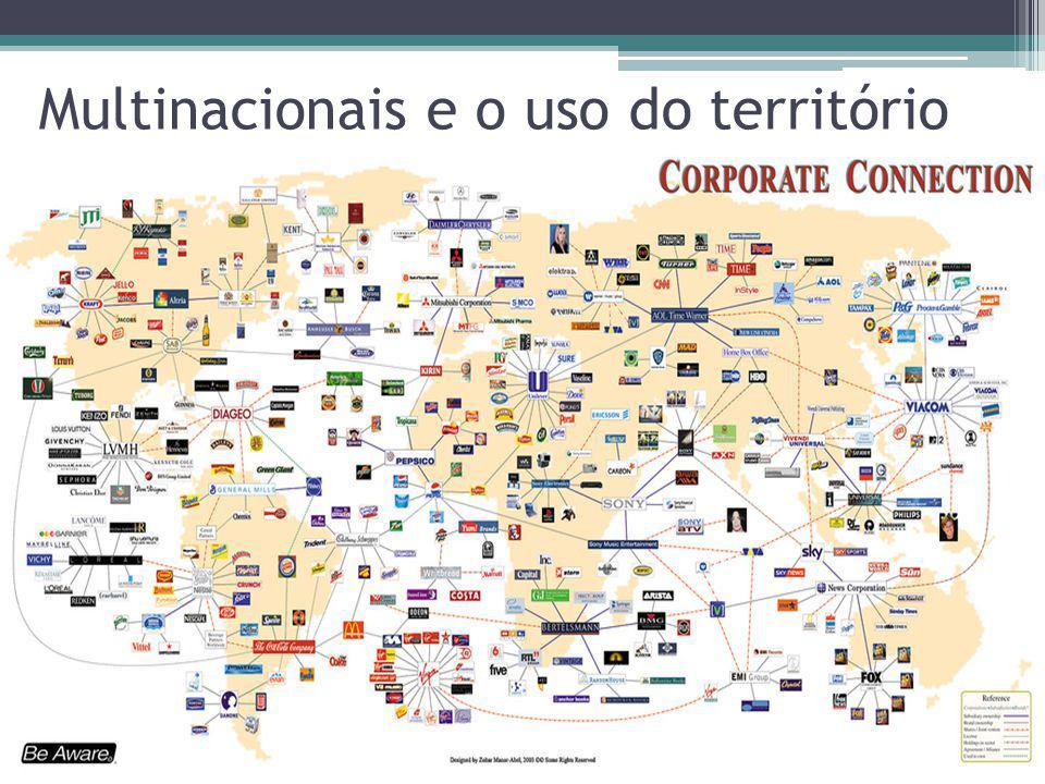 Multinacionais e o uso do território