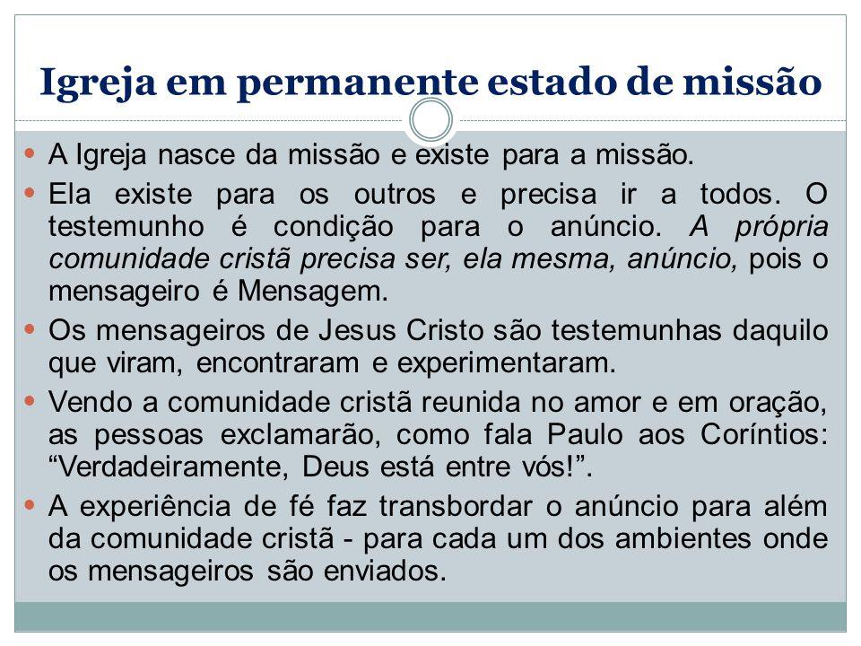 Igreja em permanente estado de missão