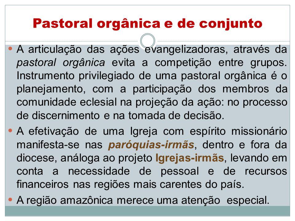 Pastoral orgânica e de conjunto