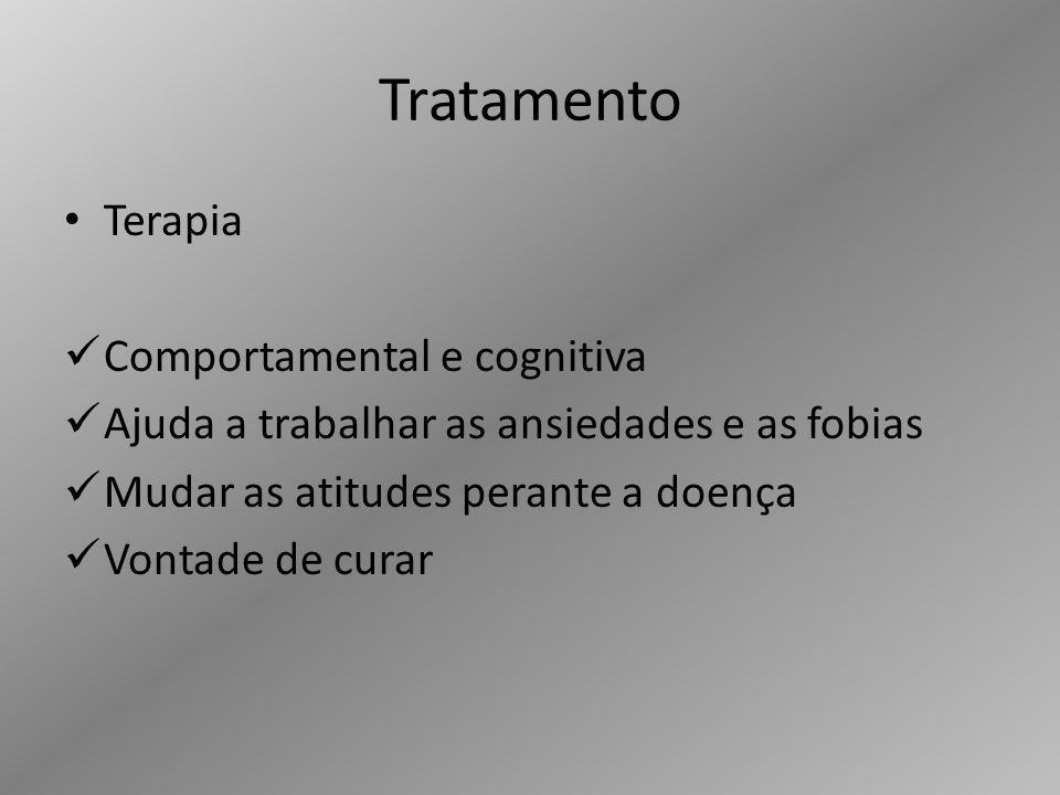 Tratamento Terapia Comportamental e cognitiva