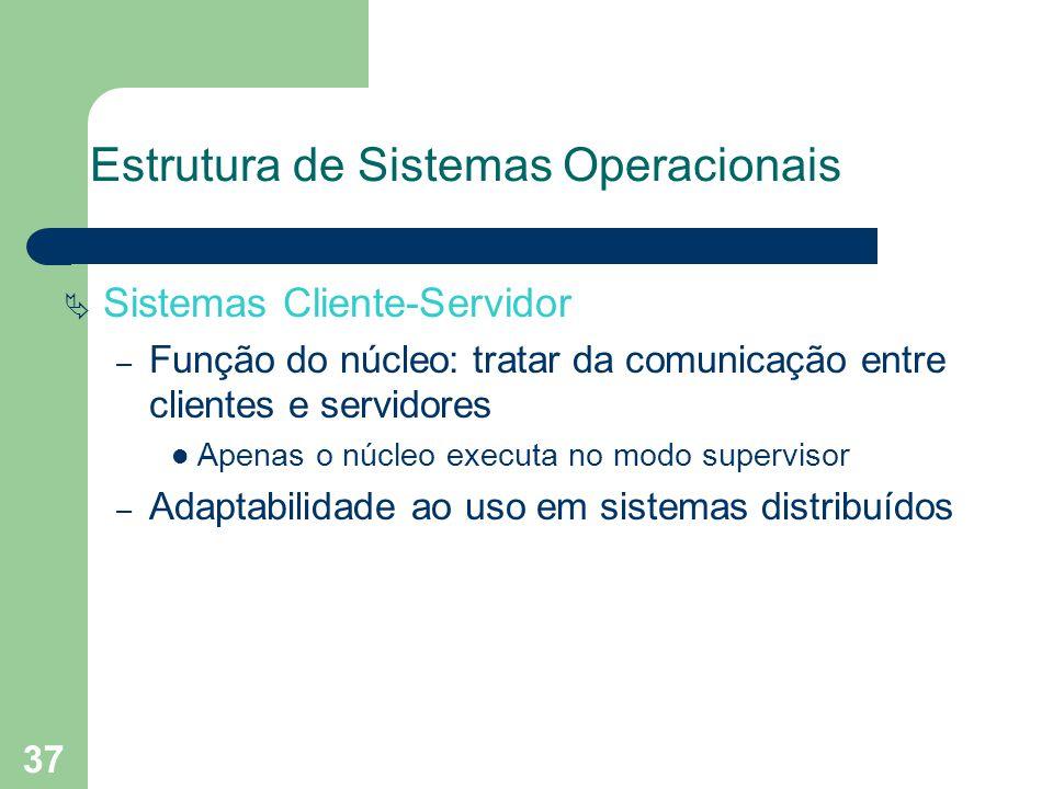 Estrutura de Sistemas Operacionais
