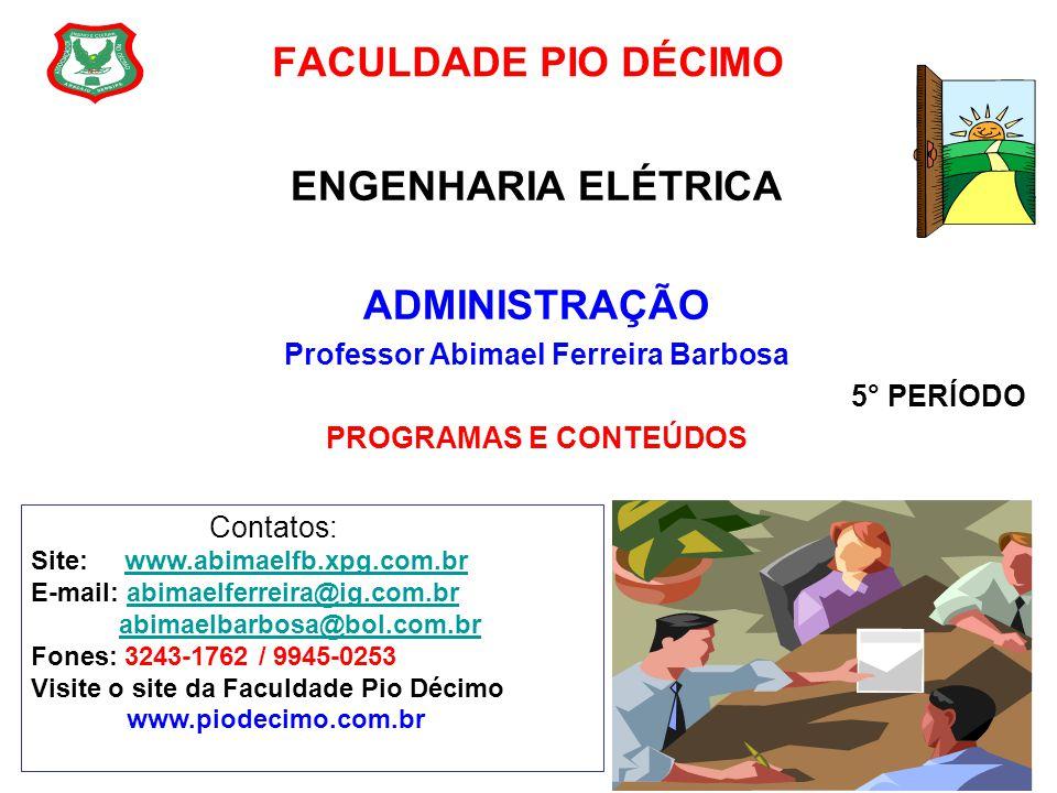 Professor Abimael Ferreira Barbosa