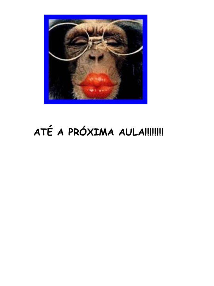 ATÉ A PRÓXIMA AULA!!!!!!!!