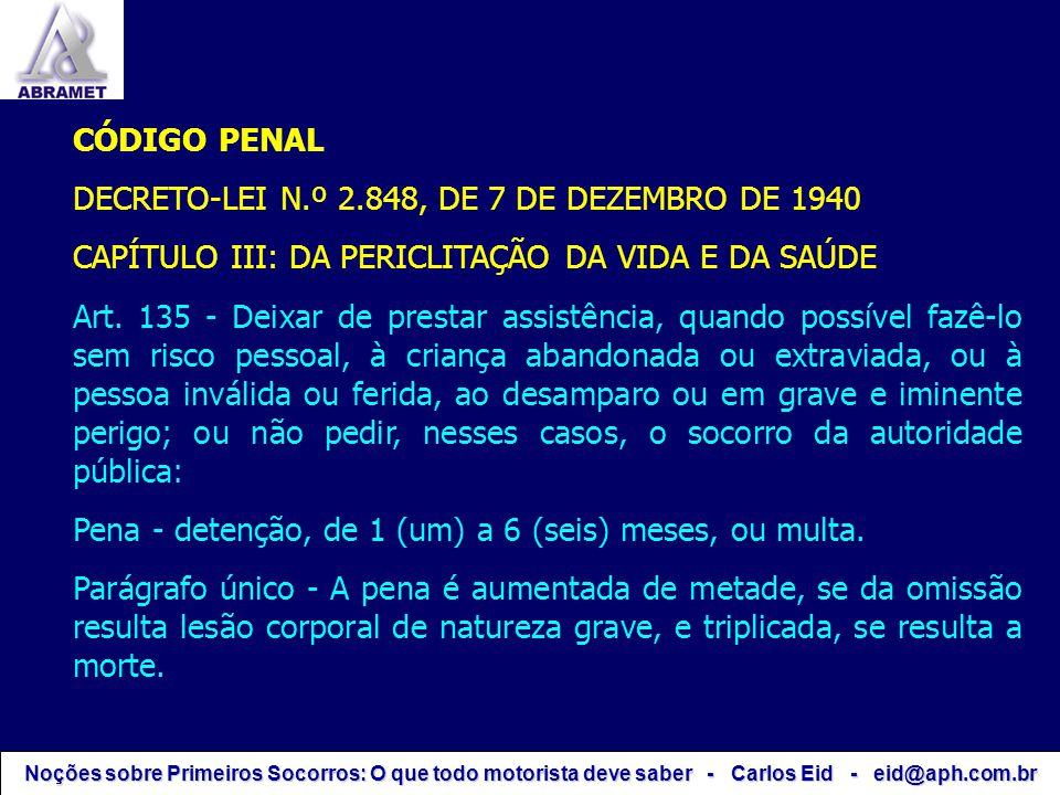 DECRETO-LEI N.º 2.848, DE 7 DE DEZEMBRO DE 1940