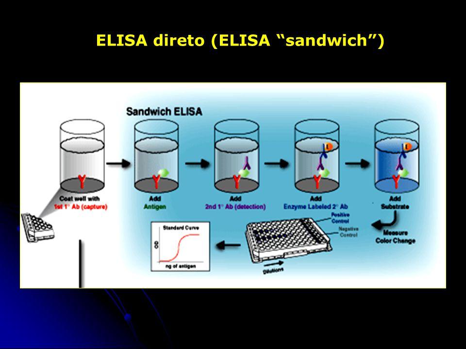 ELISA direto (ELISA sandwich )