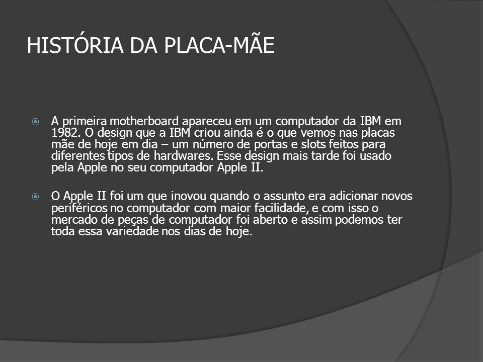 HISTÓRIA DA PLACA-MÃE