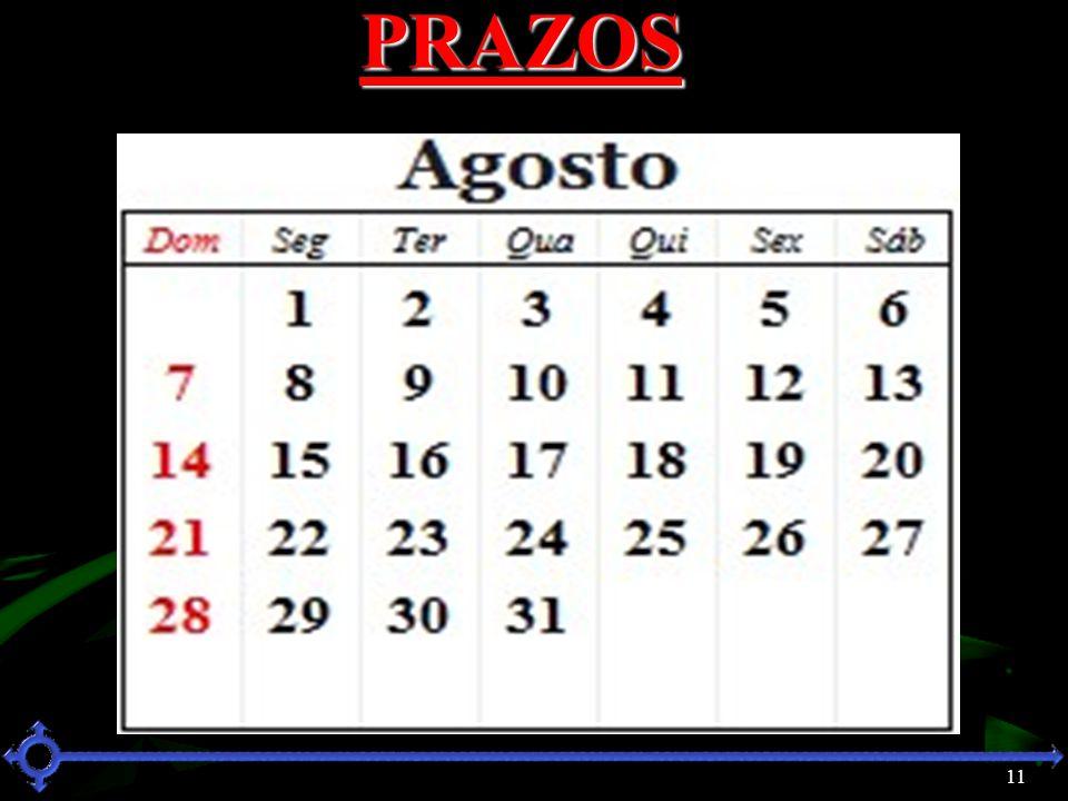 PRAZOS 11 11 11