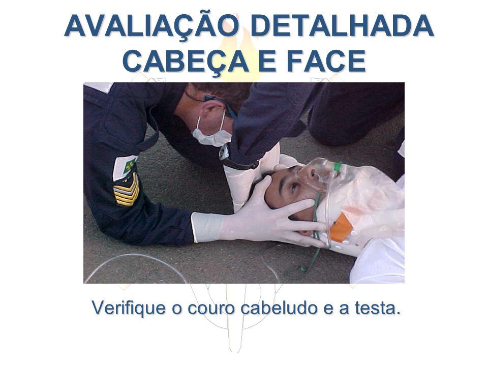AVALIAÇÃO DETALHADA CABEÇA E FACE