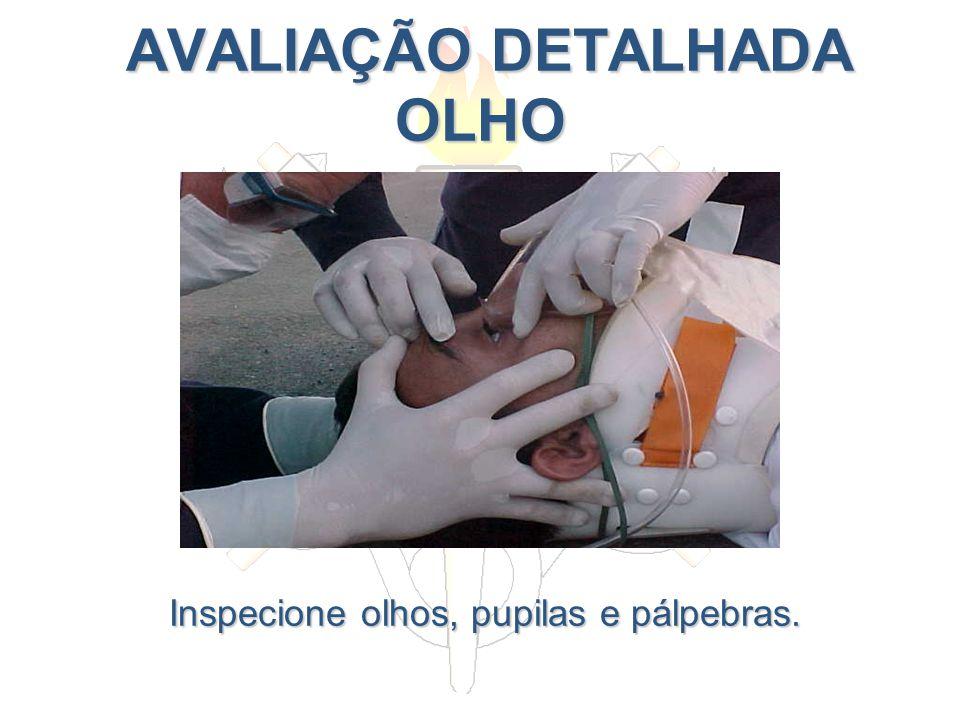 AVALIAÇÃO DETALHADA OLHO