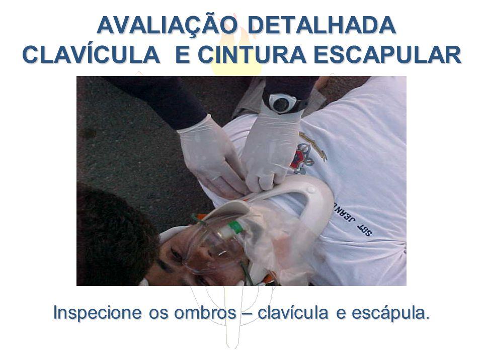 AVALIAÇÃO DETALHADA CLAVÍCULA E CINTURA ESCAPULAR