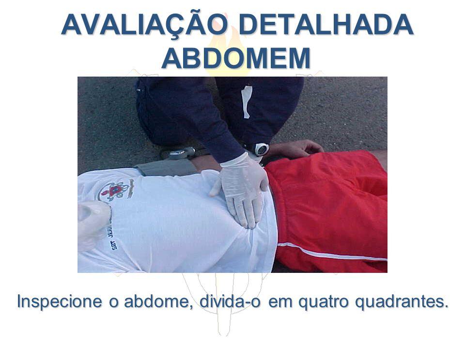 AVALIAÇÃO DETALHADA ABDOMEM