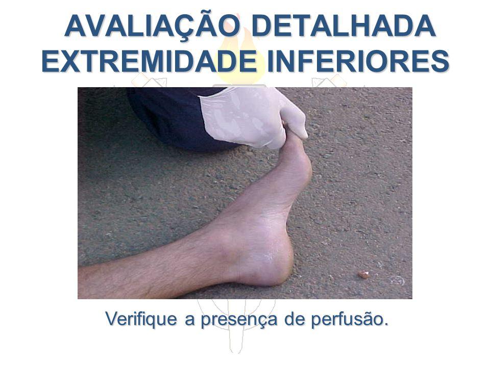 AVALIAÇÃO DETALHADA EXTREMIDADE INFERIORES