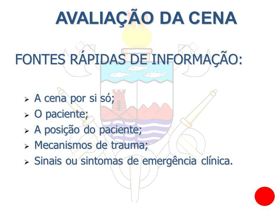 FONTES RÁPIDAS DE INFORMAÇÃO: