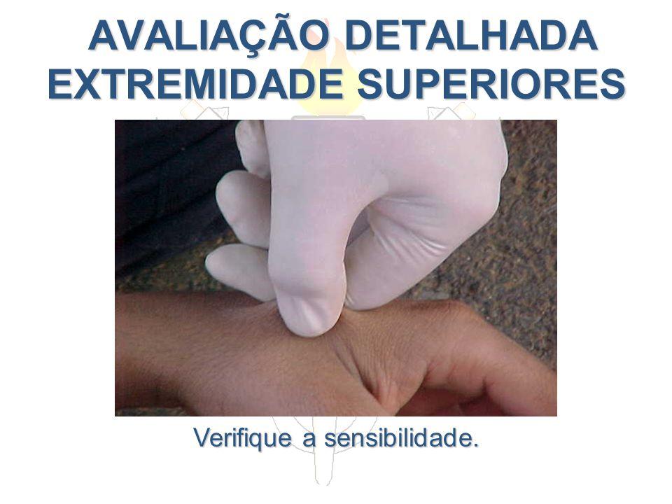 AVALIAÇÃO DETALHADA EXTREMIDADE SUPERIORES