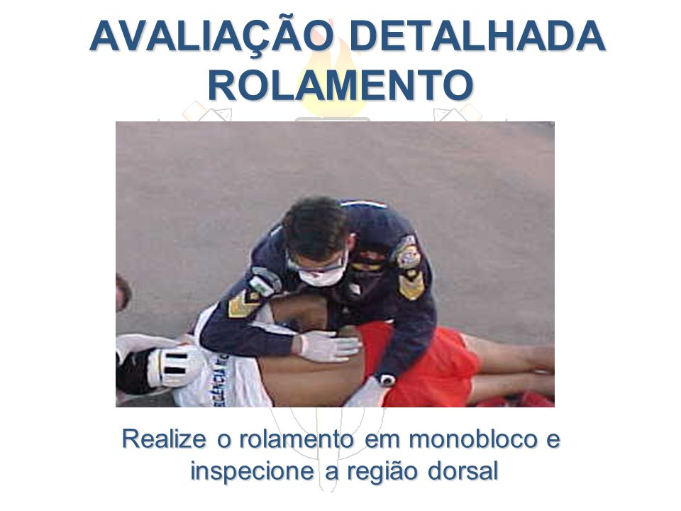 AVALIAÇÃO DETALHADA ROLAMENTO