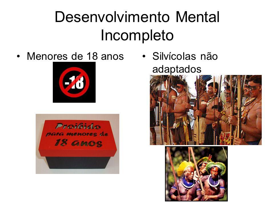 Desenvolvimento Mental Incompleto