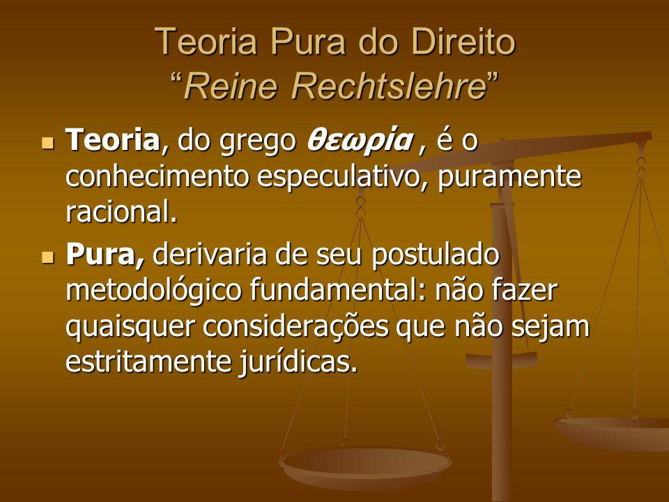 Teoria Pura do Direito Reine Rechtslehre