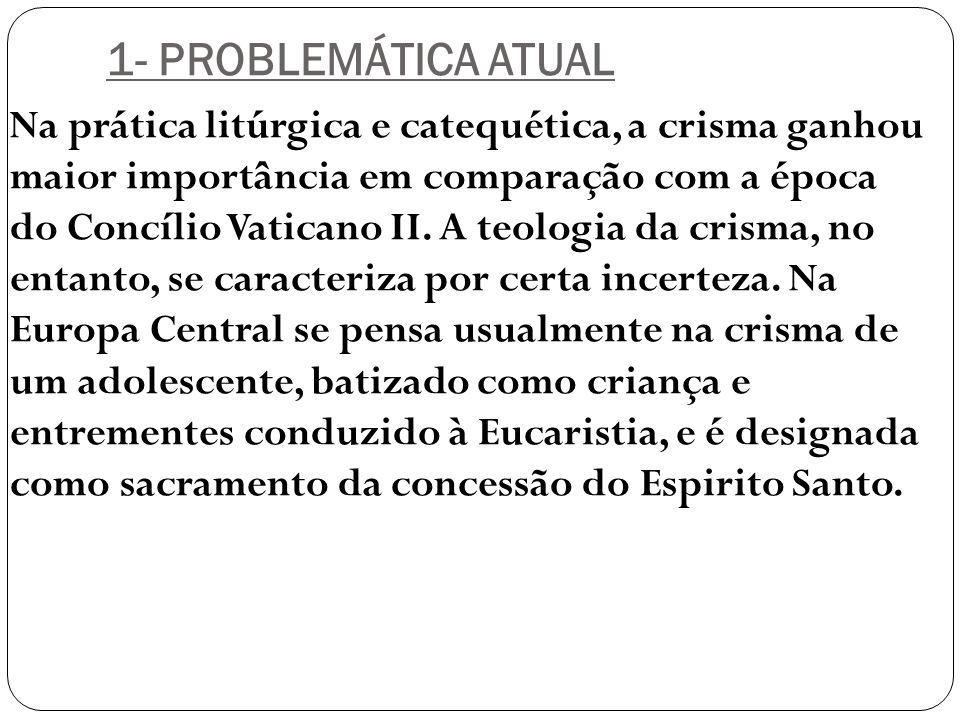 1- PROBLEMÁTICA ATUAL