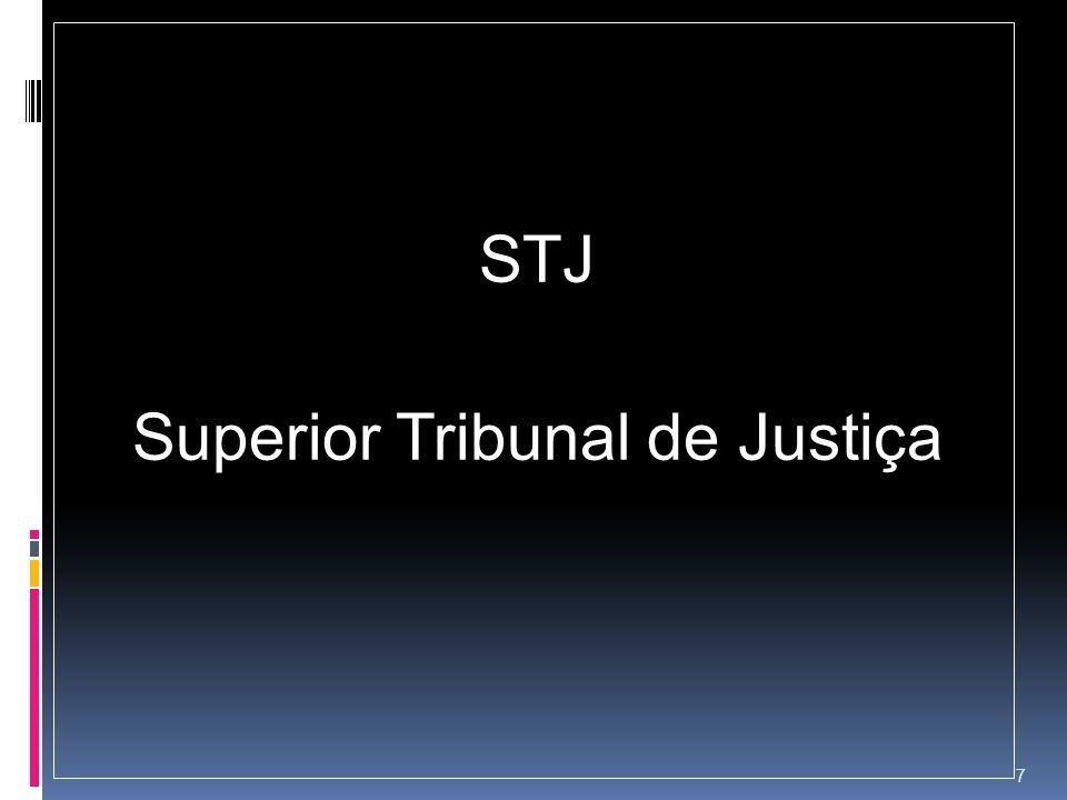 STJ Superior Tribunal de Justiça