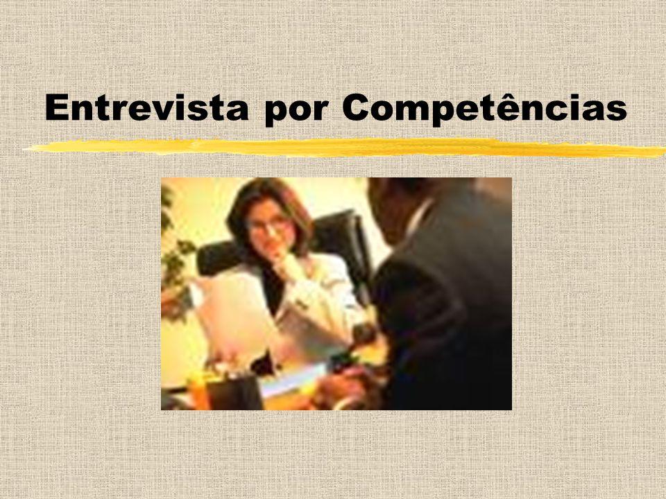 Entrevista por Competências
